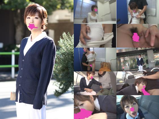 【同人動画】【ハメハメ奥様】現役看護師の痴態。面接にきた彼女をそのまま撮影でオマンコ絶頂&病院の駐車場でお口にザーメン注いじゃいました