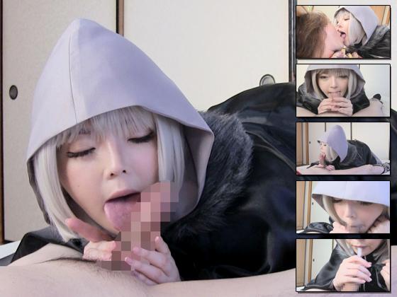 【同人動画】美少女コスプレイヤーりあのフェラ三昧のアイキャッチ画像