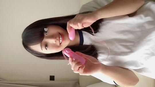 【同人動画】【自画撮りオナニー】個人撮影♥推定18歳♥普段は洋菓子店バイトちゃん♥愛嬌溢れる笑顔なHオナ♥のトップ画像
